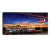 Design Art American Diner Digital Graphic Art on Wrapped Canvas