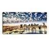Design Art New York City - Manhattan Skyline Cityscape Photographic Print on Wrapped Canvas