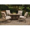 Agio Kendall Fire Pit Chat Seating Group