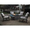 Agio Maddox Fire Pit Chat Seating Group