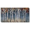 Artistic Home Gallery 'Birch Shadows' by Conrad Knutsen Painting Print on Wrapped Canvas