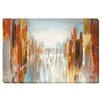 Artistic Home Gallery 'City Shadows' by Nan Painting Print on Wrapped Canvas