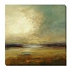 Artistic Home Gallery 'Zen Land' by Lisa Ridgers Painting Print on Wrapped Canvas