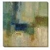 Artistic Home Gallery 'Green Abstract' by Simon Addyman Painting Print on Wrapped Canvas