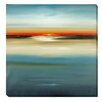 Artistic Home Gallery 'Sunset' by Lisa Ridgers Graphic Art on Wrapped Canvas