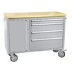 """Thor Kitchen 37.5"""" Wide 4 Drawer Stainless Steel Anti-Fingerprint Tool Chest with Work Station"""