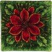 Angelstar Poinsettia Christmas Coaster (Set of 8)