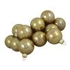 Seasons Designs Glitter Glass Ball Christmas Ornament (Set of 36)