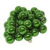 Seasons Designs Shiny Glass Ball Christmas Ornament (Set of 48)