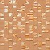 """Kellani Moon Blends 1"""" W x 1"""" L Eco Glass Mosaic in Mimosa"""
