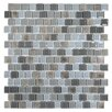 "Kellani Tides 0.75"" x 0.75"" Glass Mosaic Tile in Oyster"