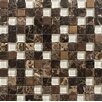 Parvatile Sonoma Glass Mosaic Tile in Copper