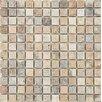 "Parvatile Scabos Tumbled 1"" x 1"" Stone Mosaic Tile"