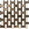 Parvatile Palos Verdes Basketweave Stone Mosaic Tile