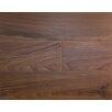 "Albero Valley Rustic Old West 7"" Engineered Walnut Hardwood Flooring in Brown"