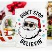 Love You A Latte Shop Don't Stop Believin' Mug