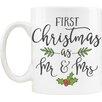 Love You A Latte Shop First Christmas as Mr & Mrs 11 oz. Mug