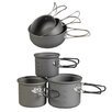 NDuR Essentials 6 Piece Aluminium Cookware Set
