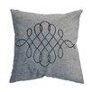 Sparkles Home Rhinestone Swirl Throw Pillow
