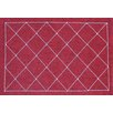 Sparkles Home Rhinestone Criss Crosses Placemat