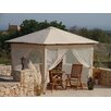 Grasekamp Antik Gazebo 4-Piece Side Wall Set