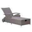 Grasekamp Valencia Vintage Sun Lounger with Cushion