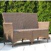Grasekamp Valencia 2 Seater Polyrattan Bench