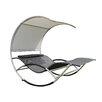 Leco Jumbo Double Sun Lounger with Cushion