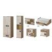 TICAA 6-tlg. Schlafzimmer-Set Camo, 90 x 200 cm