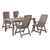 Best Freizeitmöbel Catania/Genua 5-Piece Dining Set
