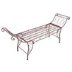 Garden Pleasure Mistique 2-Seater Iron Garden Bench