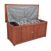 Garden Pleasure Washington Wooden Outdoor Storage Deck Box