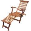 Garden Pleasure Phoenix Deck Chair with Footrest