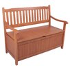 Garden Pleasure Houston 2-Seater Eucalyptus Garden Bench