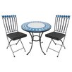 Garden Pleasure Orlando 3-Piece Bistro Set