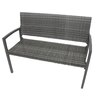 Garden Pleasure Sanremo Aluminium and Plastic Park Bench
