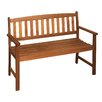 Garden Pleasure Promotion 2-Seater FSC-Certified Eucalyptus Garden Bench