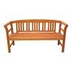 Garden Pleasure Harland 3-Seater FSC-Certified Eucalyptus Grandis Garden Bench
