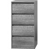 CS Schmal Soft Smart 4 Drawer Chest of Drawers