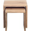 HomeTrends4You Lina 2 Piece Nest of Tables