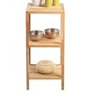 HomeTrends4You 36 x 79cm Bathroom Shelf