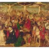 Magnolia Box Scenes from the Passion of Christ, 1510 by Master of Delft Art Print on Canvas