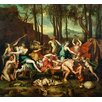 Magnolia Box The Triumph of Pan by Nicolas Poussin Art Print