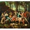 Magnolia Box Poster The Triumph of Pan, Kunstdruck von Nicolas Poussin