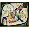 Magnolia Box 'White Oval, 1919' by Wassily Kandinsky Art Print on Canvas