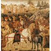 Magnolia Box Gerahmter Kunstdruck The Triumph of Julius Caesar von Paolo Uccello
