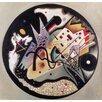Magnolia Box Leinwandbild In the Black Circle 1923, Bilddruck von Wassily Kandinsky