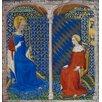 Magnolia Box Louis de Guyenne Receiving Instruction from St Louis Art Print on Canvas