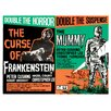Magnolia Box Poster Frankenstein/the Mummy, Kunstdruck