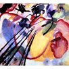 Magnolia Box Improvisation No. 26, 1912 by Wassily Kandinsky Art Print on Canvas